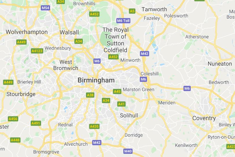 Covering Birmingham & Surrounding Areas