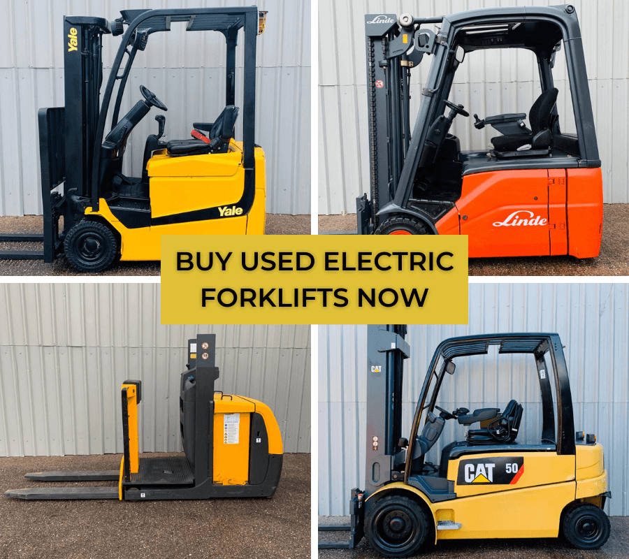 Buy Used Electric Forklifts